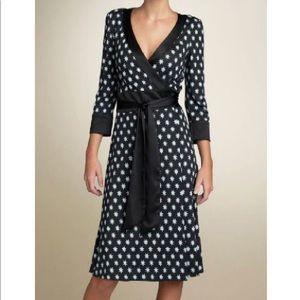 Diane Von Furstenberg Taurus Star Wrap Dress